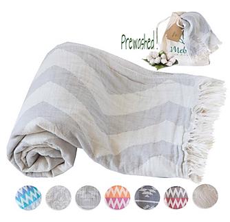 Mebien Turkish Beach Bath Towel Peshtema