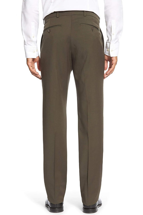 Ballin Traditional Fit Dress Pants- Loden