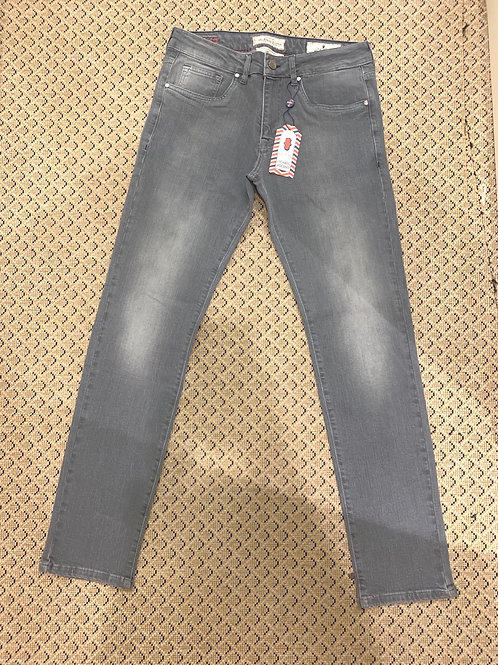 Luchiano Visconti Gray Denim Pants