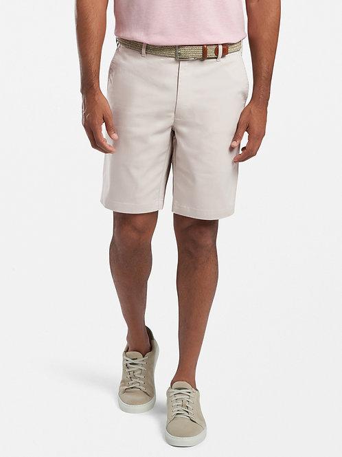Peter Millar Crown Comfort Twill Shorts- Khaki