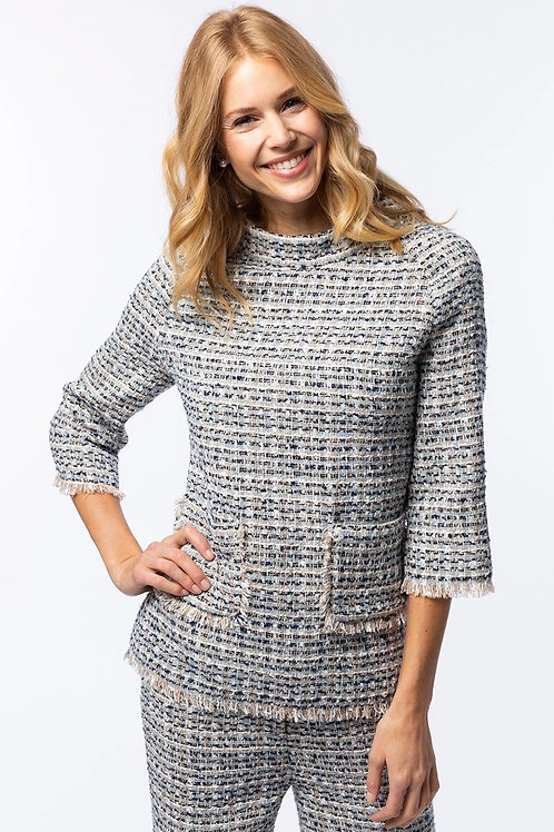 Tyler Boe Tweed Blouse