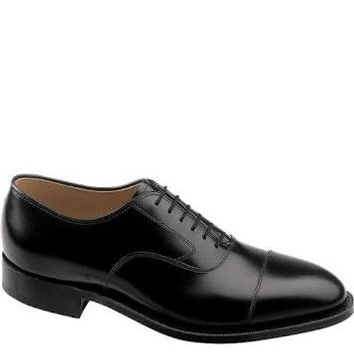 Johnston & Murphy Black Calfskin Shoes