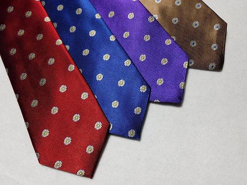 Bob Goodman Floral Silk Tie