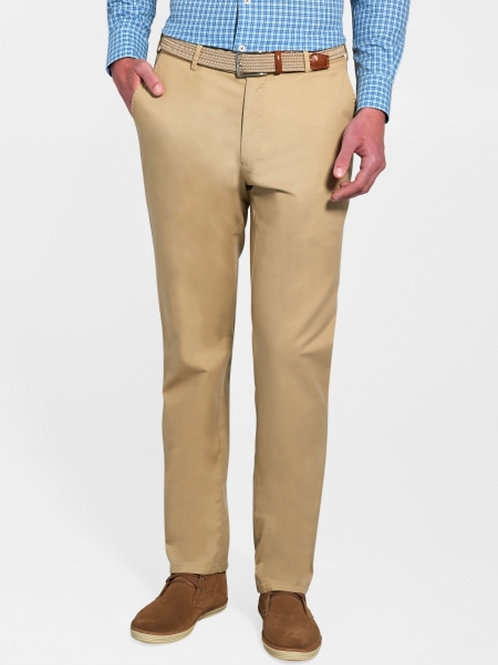 Peter Millar Soft Twill Trouser- Khaki