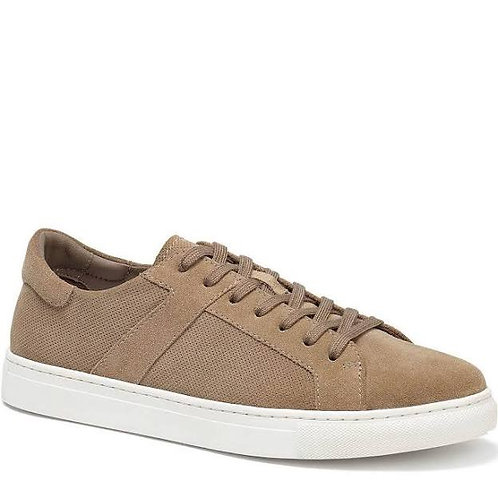 H.S. Trask Taupe Suede Shoes