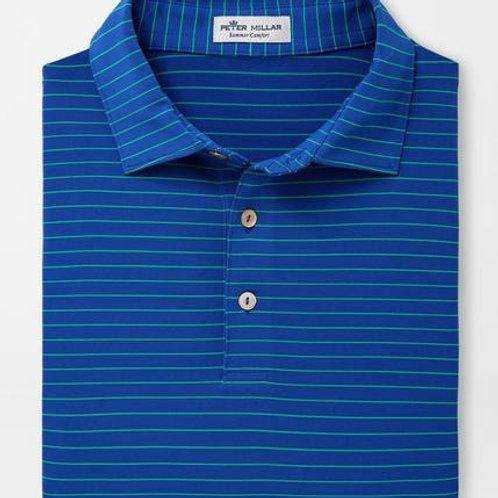 Peter Millar Crafty Polo- Blue Lapis