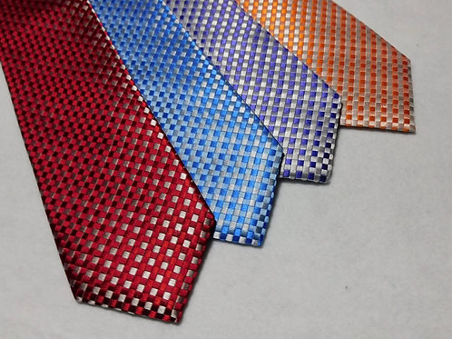 Bob Goodman Bellinzona Italian Woven Silk Checked