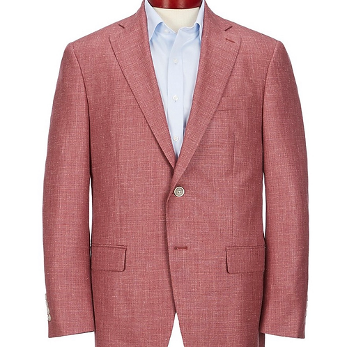 Hart Schaffner Marx Red Wool Blend Sport Coat