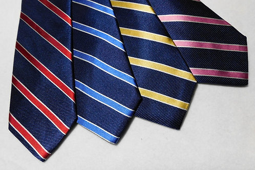 Bob Goodman Bellinzona Italian Woven Silk Striped