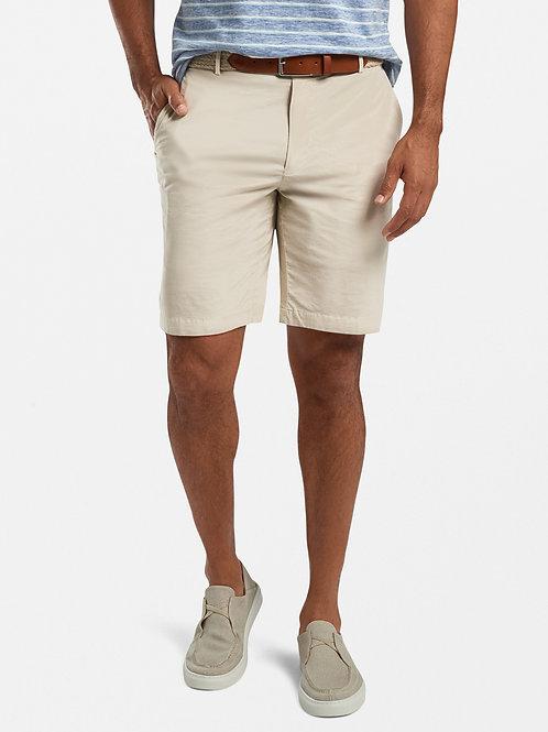 Peter Millar Poplin Cotton-Blend Short- Stone