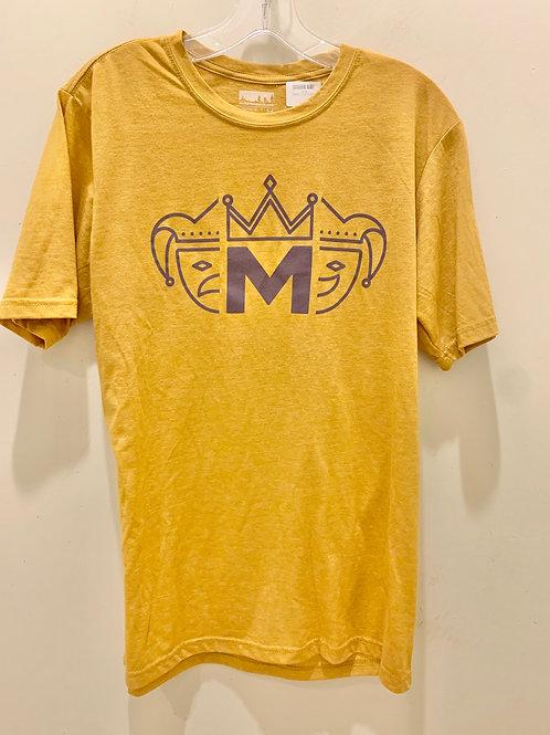 Mardi Gras T-Shirt- Yellow