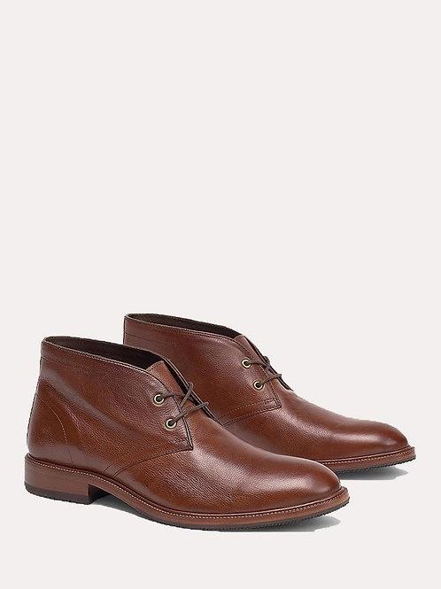 H.S. Trask Brown Italian Calfskin Shoes