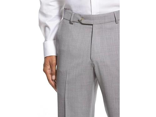 Ballin Traditional Fit Dress Pants- Pearl Gray