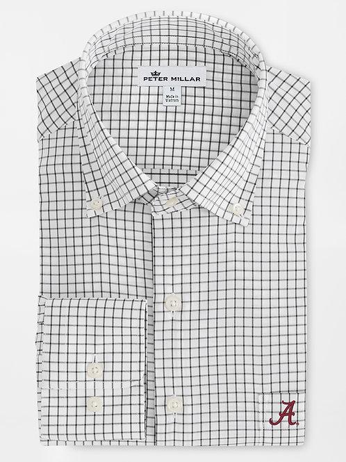 Peter Millar Alabama Tattersall Sport Shirt