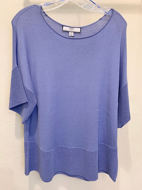Katherine Barclay Periwinkle Top