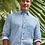 Thumbnail: David Donahue Paisley Linen Sport Shirt