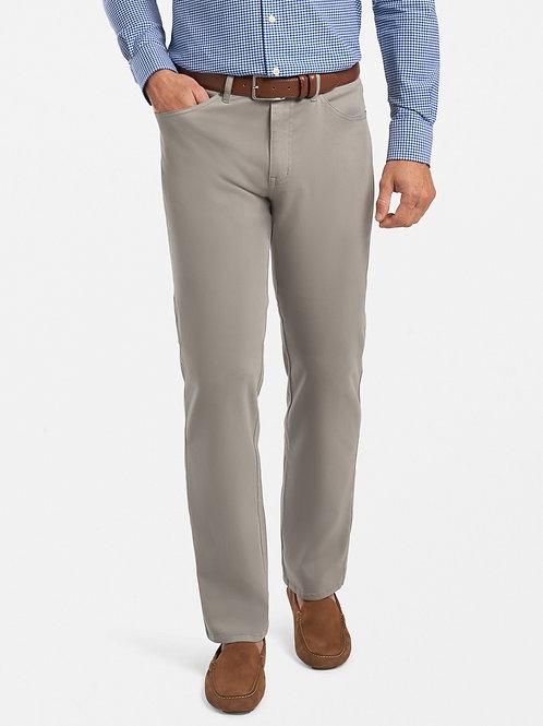 Peter Millar Ultimate Sateen Five-Pocket Pant- Gale Grey