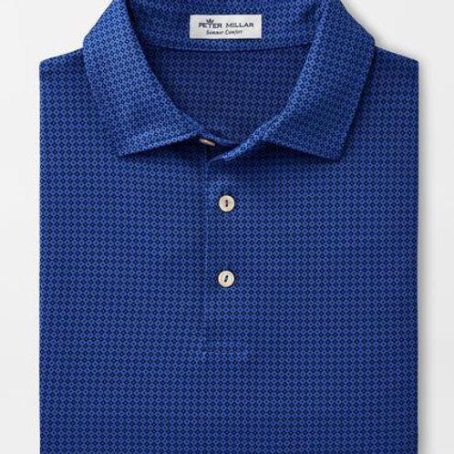 Peter Millar Duncan Polo- Blue Lapis
