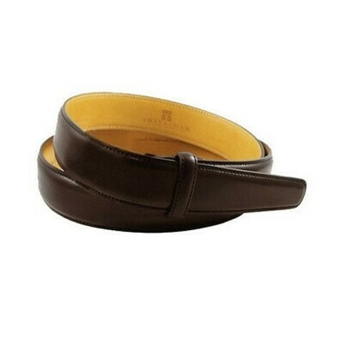 "Trafalgar 1"" Leather Belt Strap"