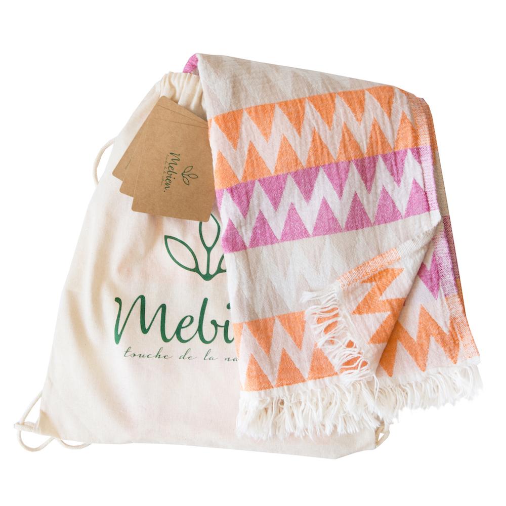 Lightweight cotton beach towel