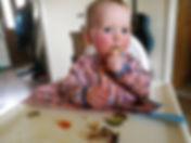 LibertyJade weaning eating veg BLW