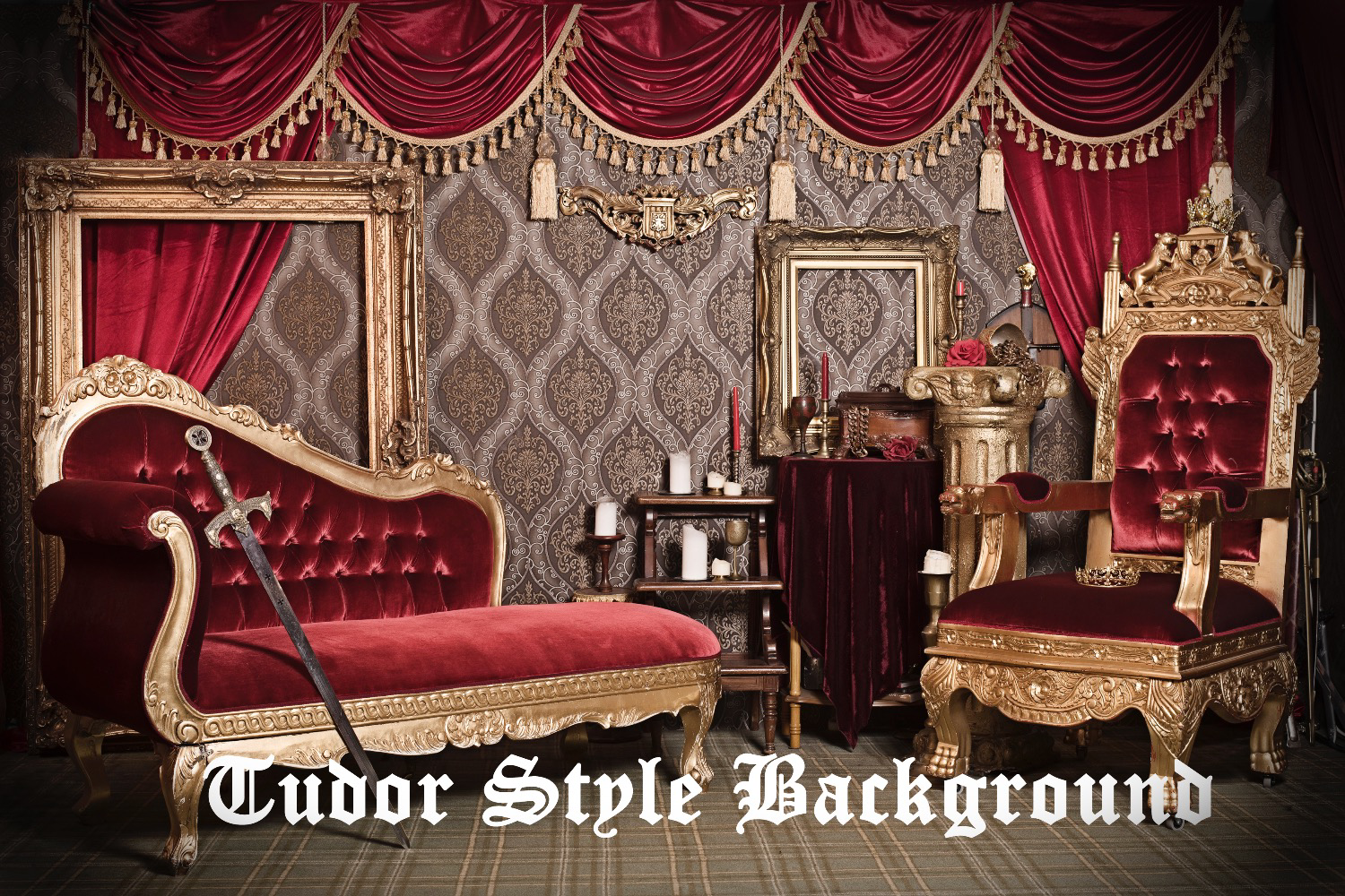 Tudor background