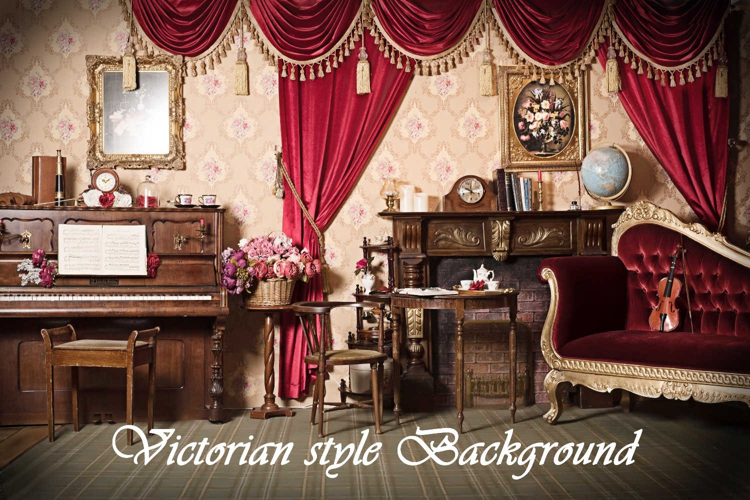Victorian style Background