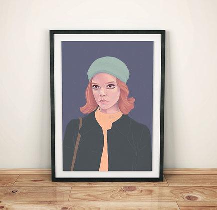 Beth - The Queen's Gambit Print