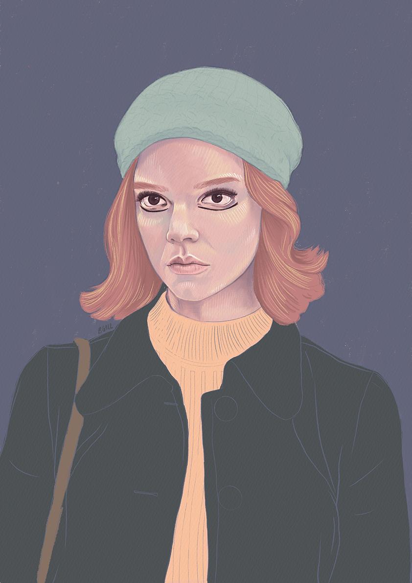 Beth, The Queen's Gambit