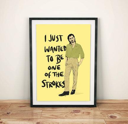 Alex Turner 'Star Treatment' Print