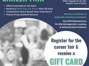 Habitat Michigan Career Fair 2021