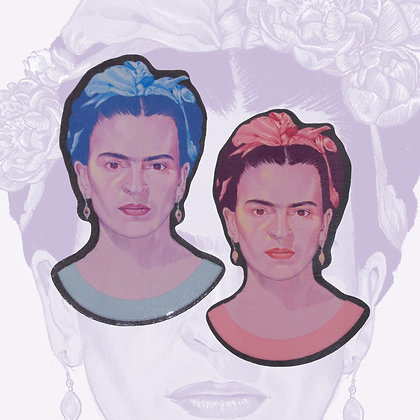 Frida Kahlo Vinyl Sticker Pack