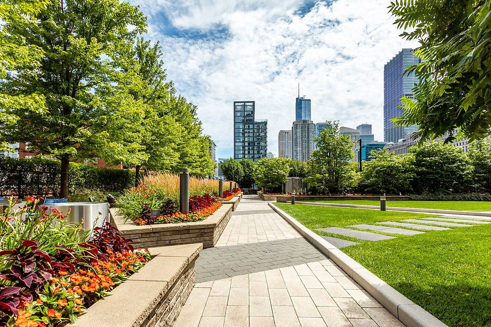 The Habitat Company's Hubbard Place property. The Habitat Company, a full service real-estate firm, head quarters located in Chicago IL