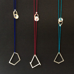 'Geometry' pendants