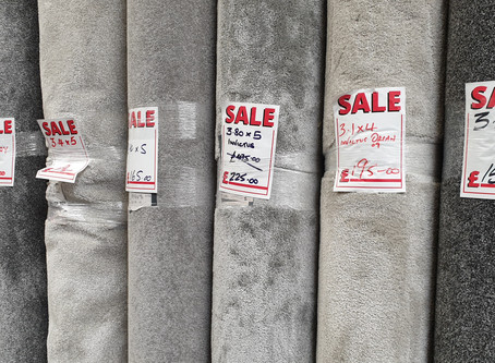 Clearance and Roll End Sale..