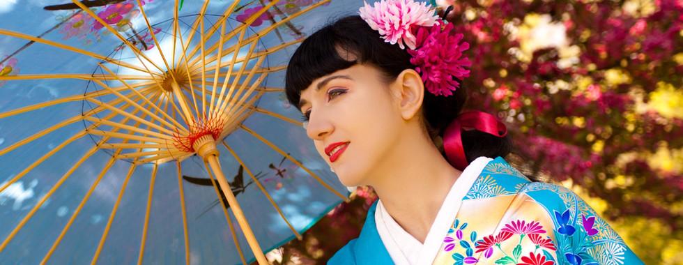Pronájem a styling kimon