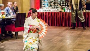 Představení japonského tance