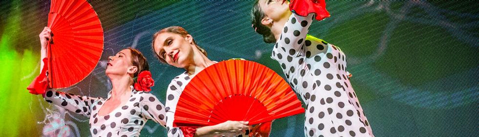 Španělský večírek, flameco, flamenko