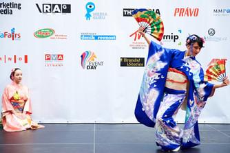 Japonské představení