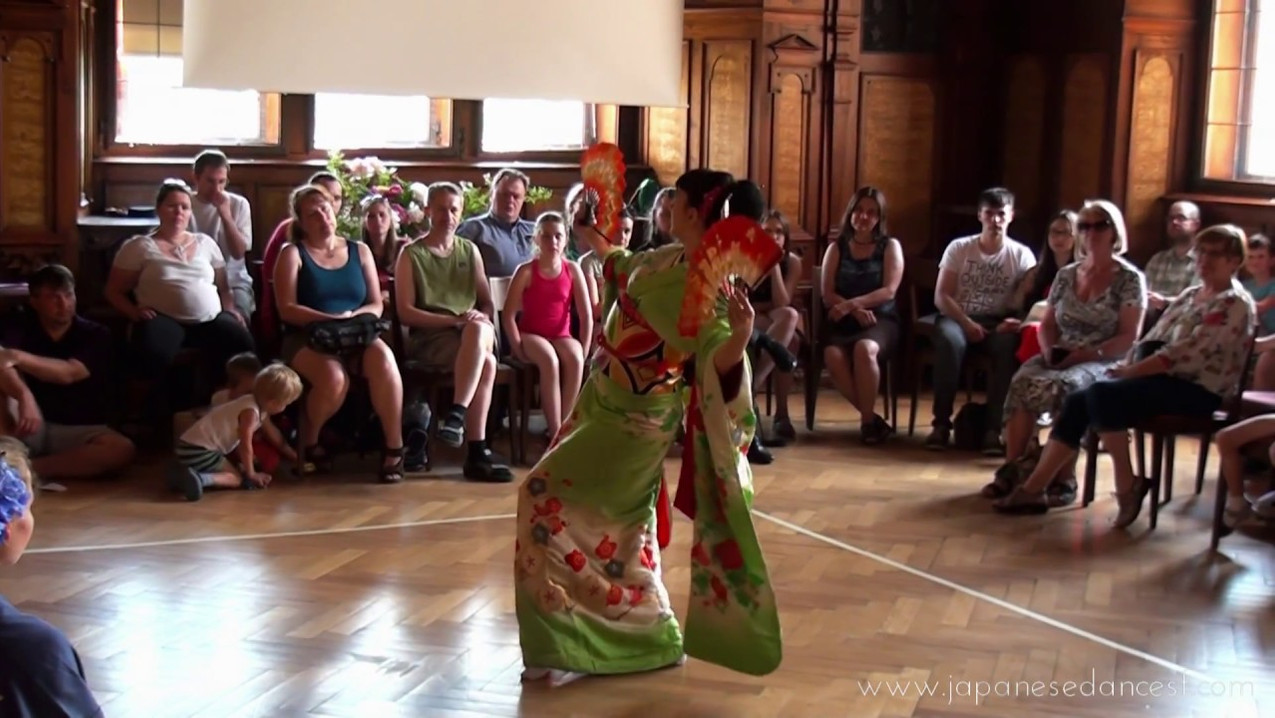 Japanese days in Chateau Pruhonice