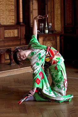 Japonský tanec Ajny Kenningové