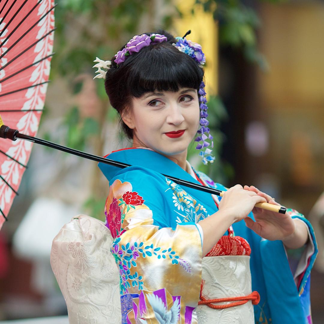 Japonské taneční představení