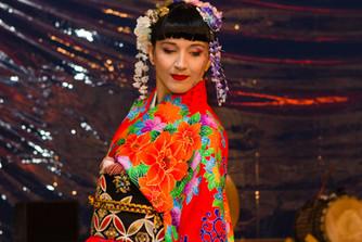 Taneční vystoupení japonského tance