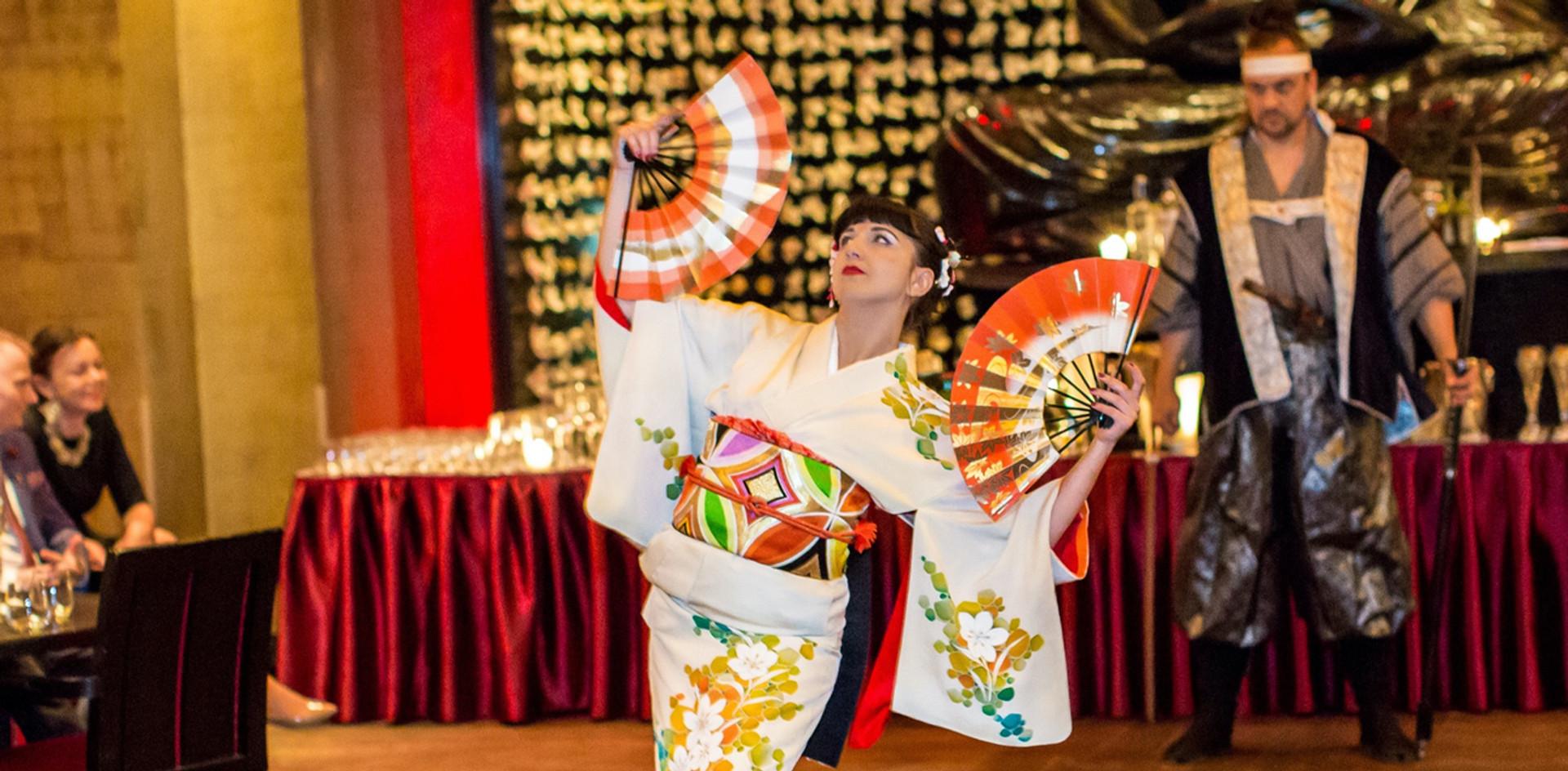 Kimono fashion shows and presetations