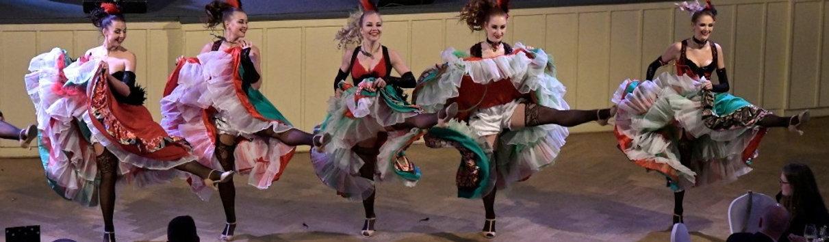 Francouzský kankán, Moulin Rouge, westernové tance