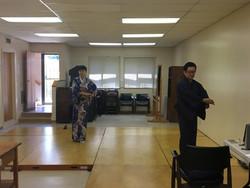 Taneční hodiny japonského tance, Nishikawa sensei