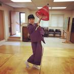Taneční trénínk klasického japonského tance Nihon buyo, Nishikawa Ryu San Francisco