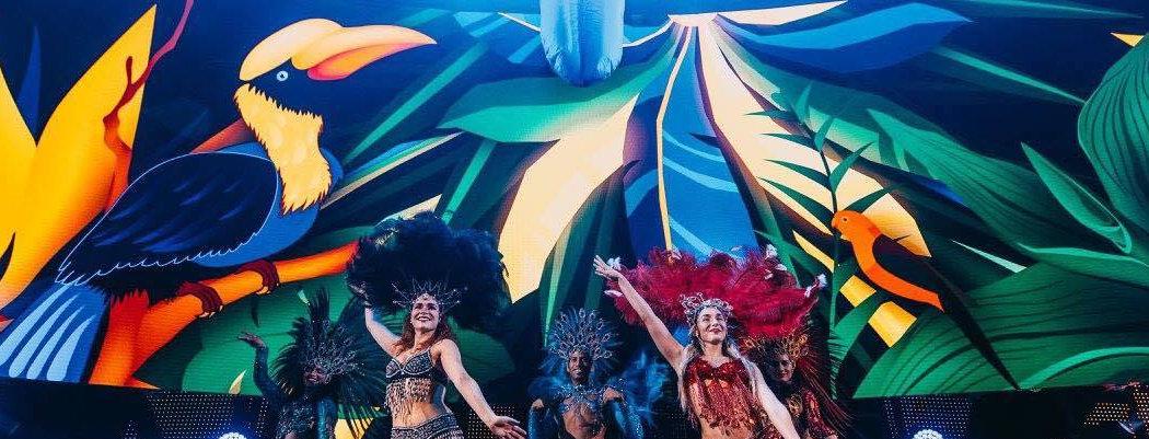 Latino párty, Brauilský večírek, karneval v Riu