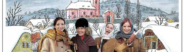 Vánoční večírek, párty na vánoce. Adventní programy, český advent