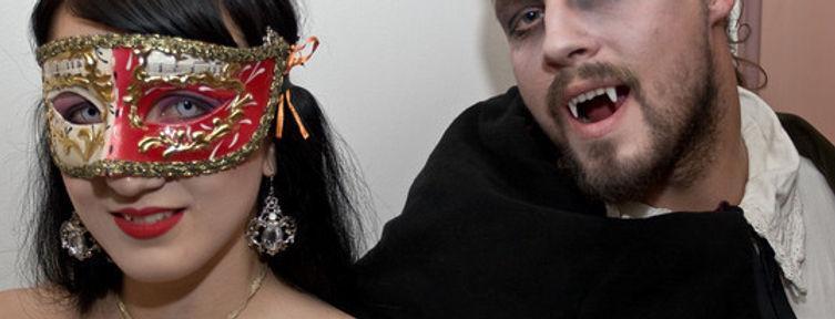 Drákula, horror párty, upírský večírek